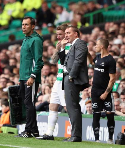 Celtic v Rosenborg - UEFA Champions League - Third Round Qualifying - First Leg - Celtic Park