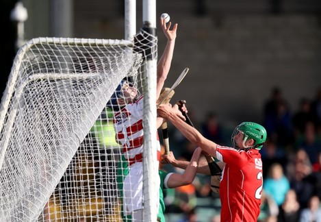 Patrick Collins attempts to stop a point