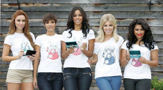 The Saturdays launch A Dog is Not a Toy campaign - London