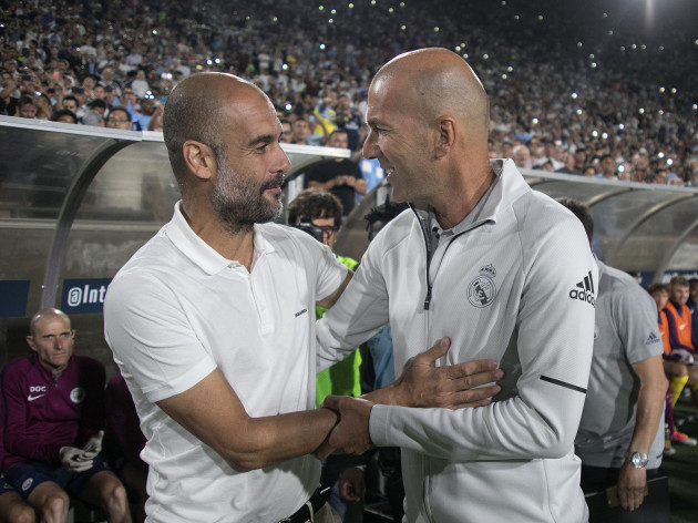 Manchester City defeats Real Madrid, 4-1.