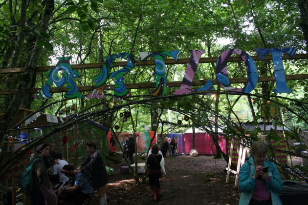 The ArtLot Area at Electric Picnic