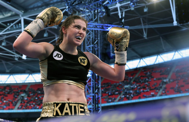 Katie Taylor and Nina Meinke