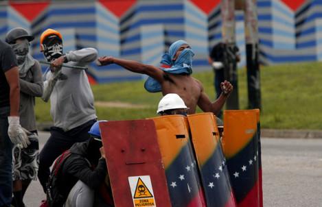 Venezuela Protests Against Maduro Government