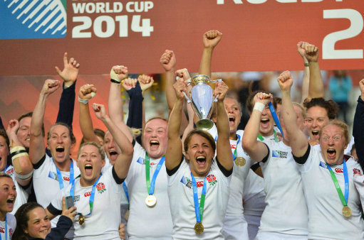 IRB Womens Rugby World Cup - England Wins Title - Paris