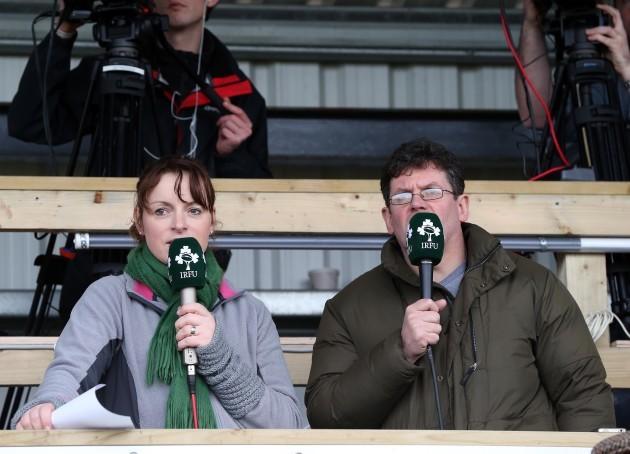 Fiona Steed and Adrian O'Farrell