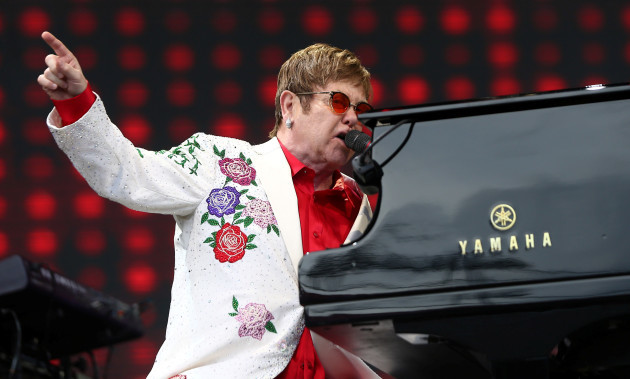 Elton John has expressed concern about the music industry following
