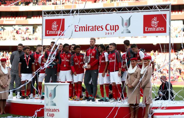 Arsenal v Sevilla FC - 2017 Emirates Cup - Emirates Stadium