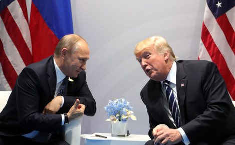 G20 Summit 2017 - Trump And Putin Meet
