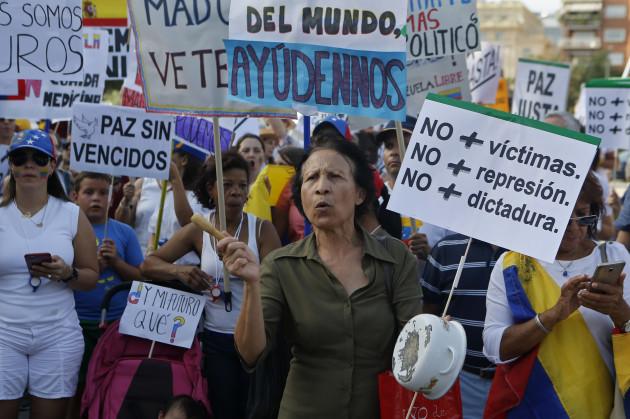 Spain Venezuela Political Crisis