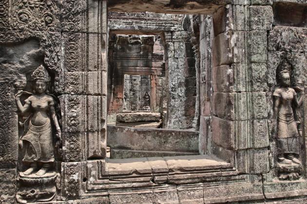 Vietnam and Cambodia Travel Stock