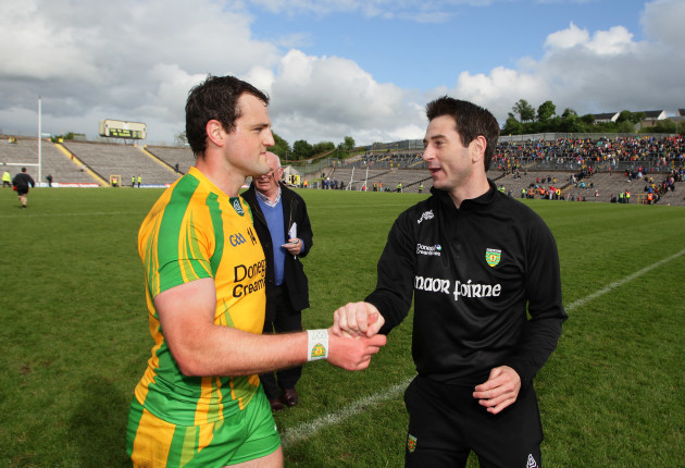 Michael Murphy and Rory Gallagher
