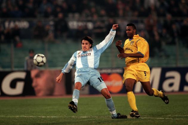 Soccer - UEFA Champions League - Second Stage Group D - Lazio v Leeds United