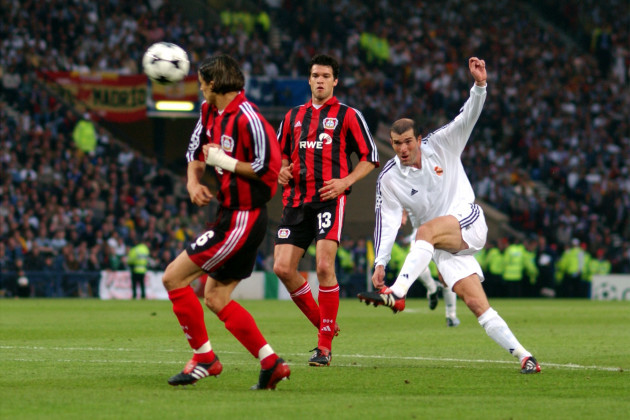 Soccer - UEFA Champions League - Final - Real Madrid v Bayer Leverkusen