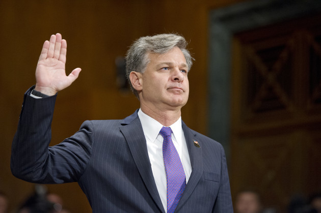 Wray Confirmation Hearing