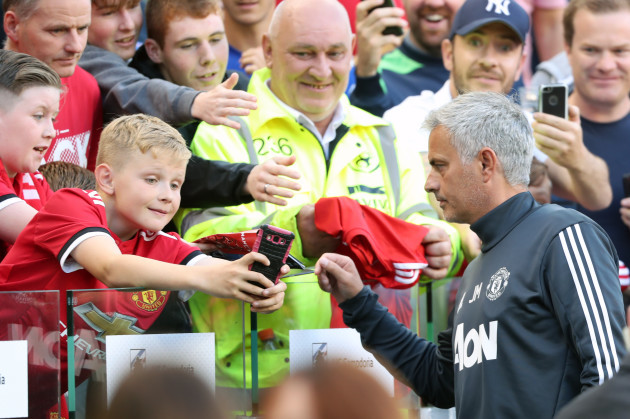 Manchester United v Sampdoria - Pre-Season Friendly - Aviva Stadium