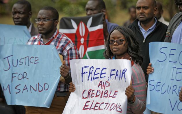 Kenya Election Dead Official