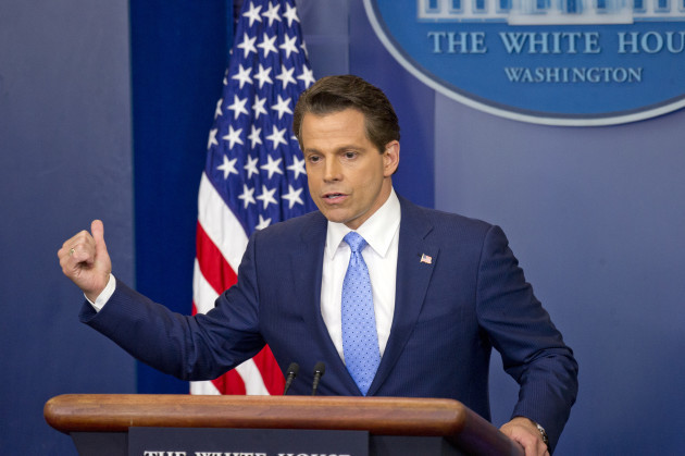 DC: Anthony Scaramucci's First Day