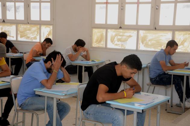 TUNISIA-TUNIS-EDUCATION-EXAM