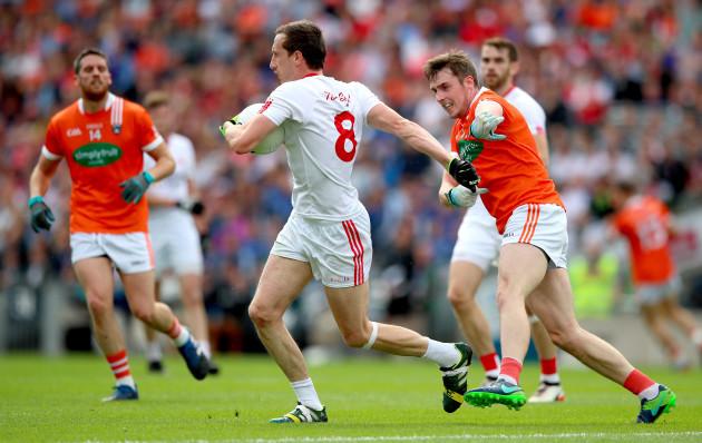 Colm Cavanagh and Ciaran O'Hanlon