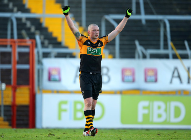Kieran Donaghy celebrates after the final whistle