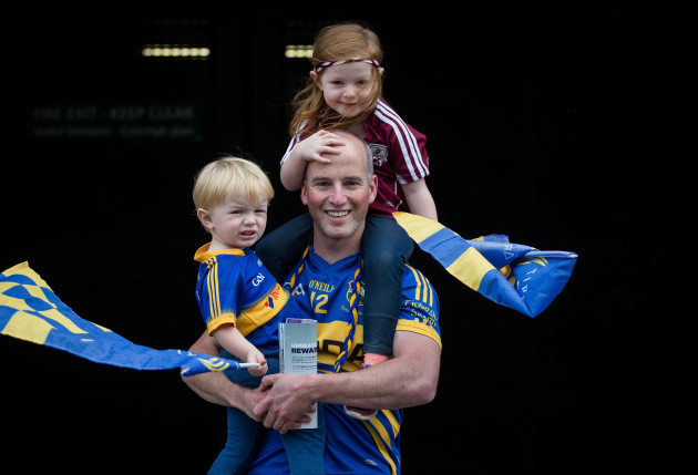 Jack Maher with JJ and Caoimhe