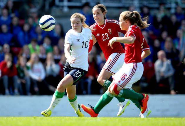 Saoirse Noonan with Hanna Nemeth