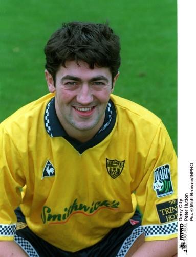 Peter Hutton Derry City 13/10/1996