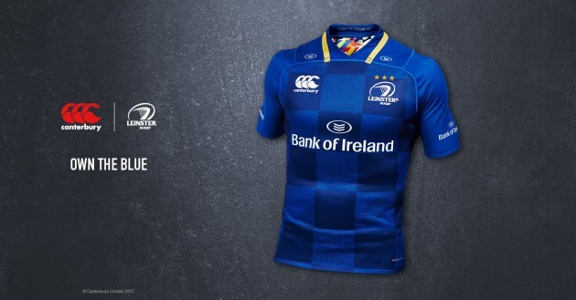 78eec867ed0 LEINSTER HAVE TODAY revealed the home jersey they will wear for the  upcoming season.