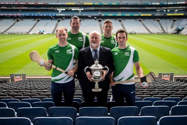 Kevin Moran, Brendan Cummins, Martin Donnelly, James McInerney and Anthony Nash