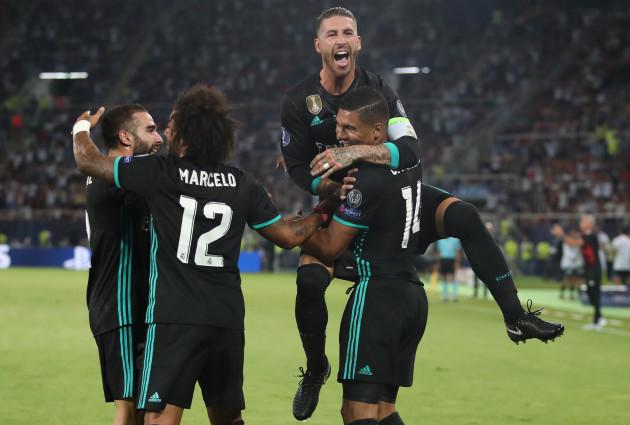 Real Madrid v Manchester United - UEFA Super Cup - Philip II Arena