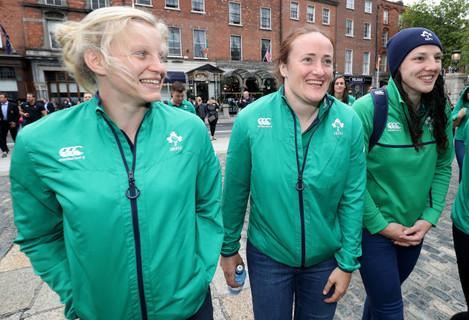 Claire Molloy, Ailis Egan and Paula Fitzpatrick