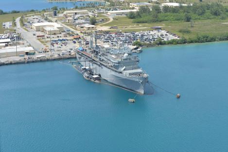 USN USS Topeka and USS Emory S. Land