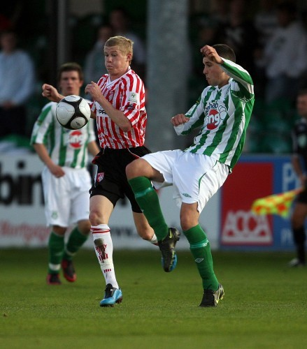 James McClean with Dave Webster