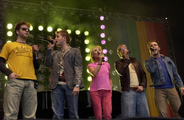 Mardi Gras concert - Westlife