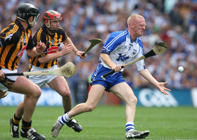 Jackie Tyrrell and Eoin Larkin put John Mullane