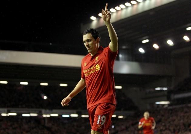 Soccer - Barclays Premier League - Liverpool v Fulham - Anfield