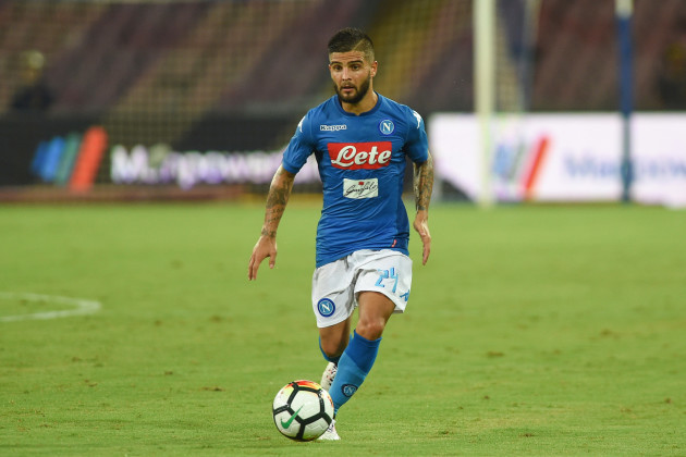 Italy: SSC Napoli v Espanyol - Pre-Season Friendly