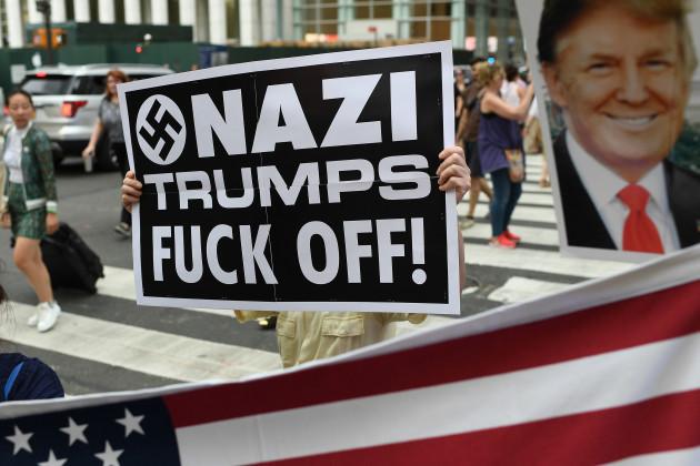 NY: Anti-Trump Rally In New Yrok City.