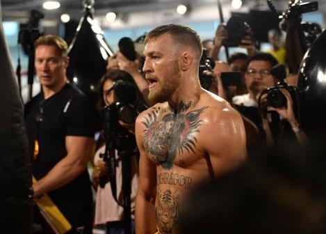 Boxing: McGregor Media Workout