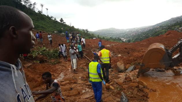 SIERRA LEONE-FREETOWN-MUDSLIDE