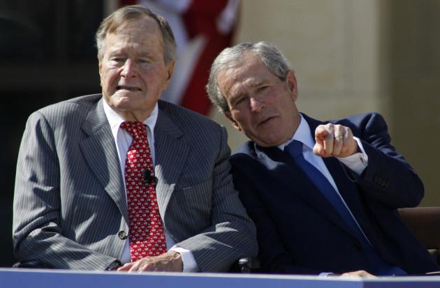 George W. Bush Presidential Library Dedication - Dallas