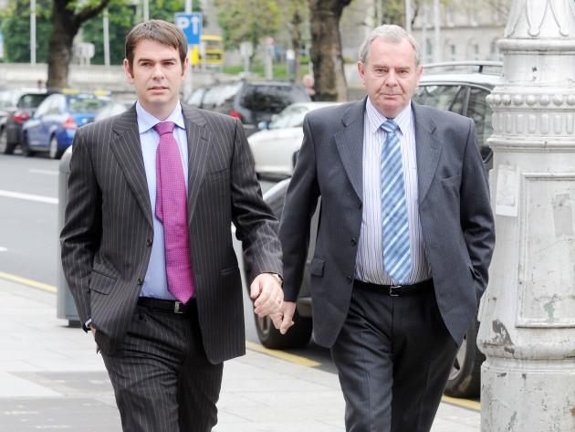 Sean Quinn case. Businessman Sean Quin