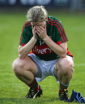 Cora Staunton at the end of the game