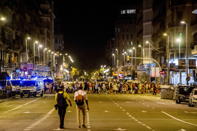 Terror attacks in Spain