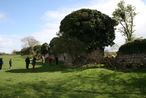 Town Wall pre conservation