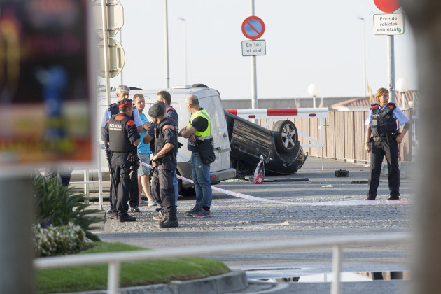 After the terrorist attack - Situation in Cambrils