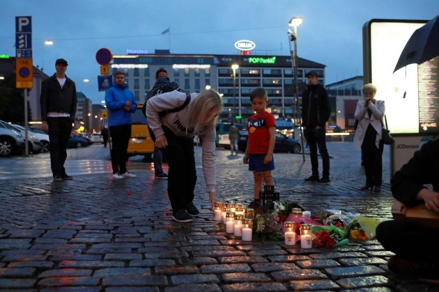 FINLAND-TURKU-STABBING ATTACKS-MOURNING