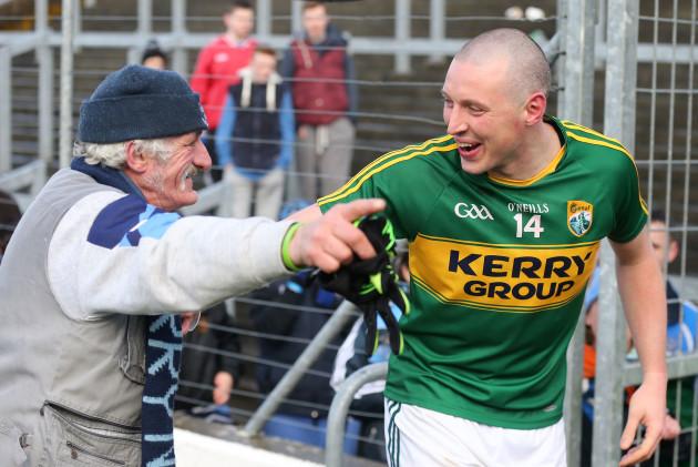 Kieran Donaghy with Gerry Gowran