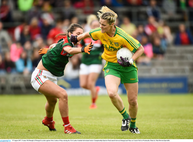 Donegal v Mayo -TG4 Ladies Football All-Ireland Senior Championship Quarter-Final