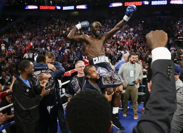 CORRECTION Crawford Indongo Boxing